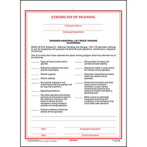 Training Forms For Safety And Compliance
