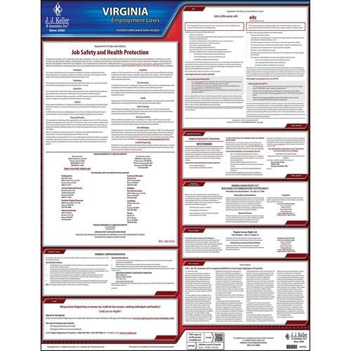 2021 virginia federal labor law posters