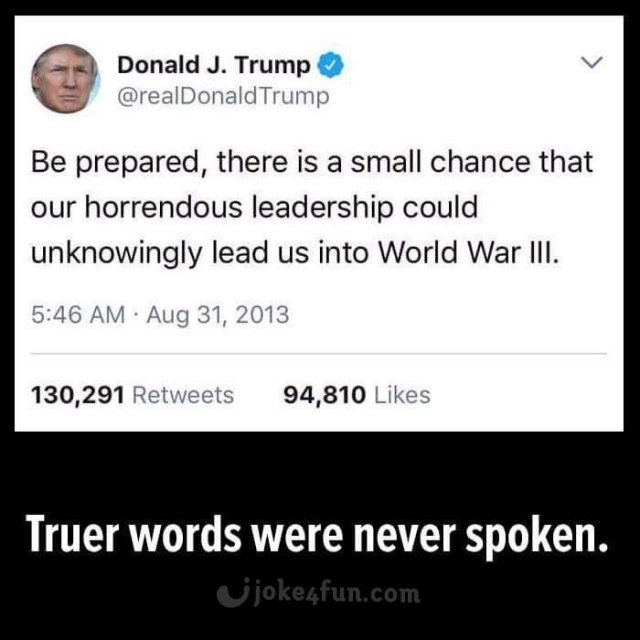 Trump jokes Trump memes