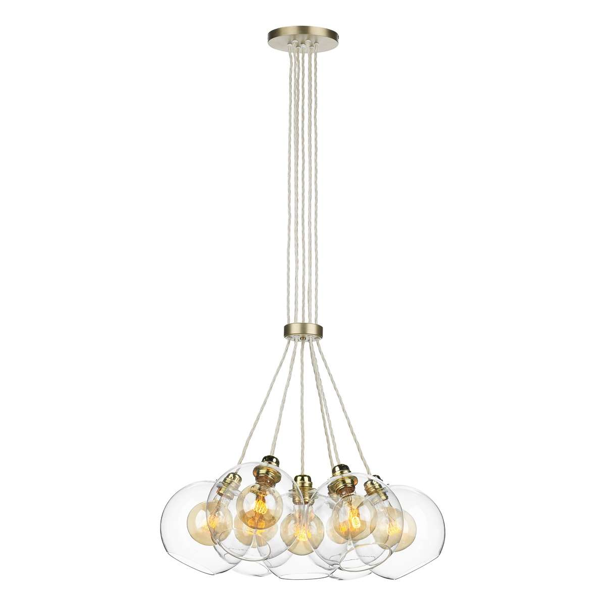 David Hunt Lighting Apo Apollo 7 Light Pendant In