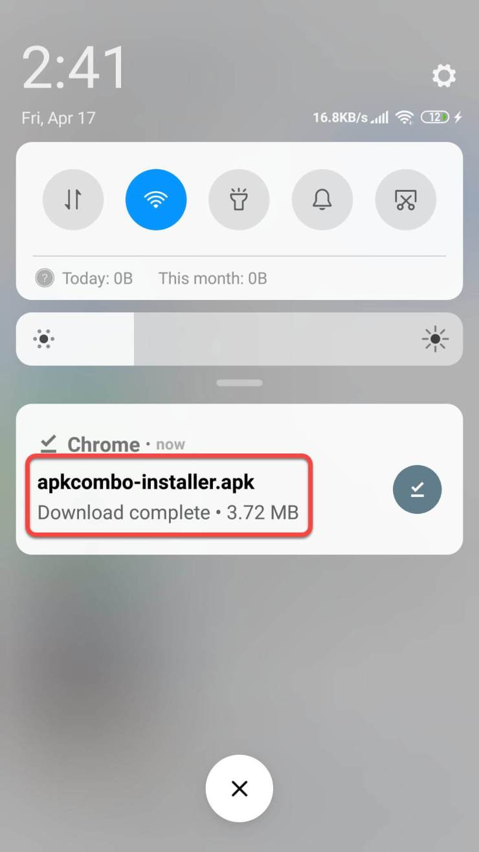 install APKCombo Installer (step-2)