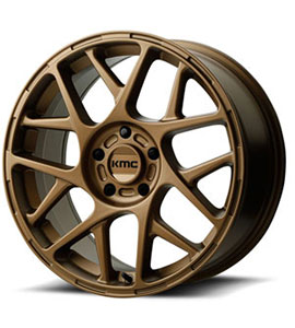 Honda CRV KMC Bully Wheels Gold