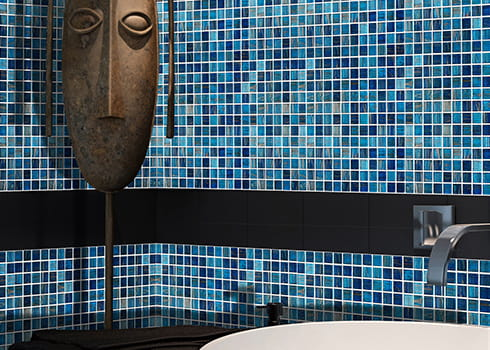 ceramic mosaic tile swimming pool