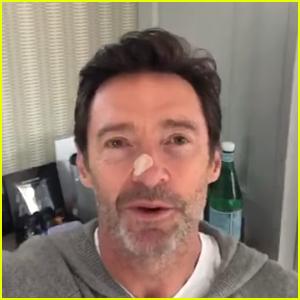 Hugh Jackman Updates Fans After Having Biopsy Done on His Nose