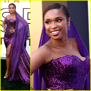 Jennifer Hudson Stuns in A Gown Fit For A Queen at 'Respect' Premiere in LA