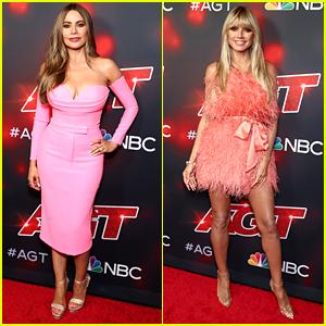 Sofia Vergara & Heidi Klum Rule The Red Carpet At 'AGT's First Live Show