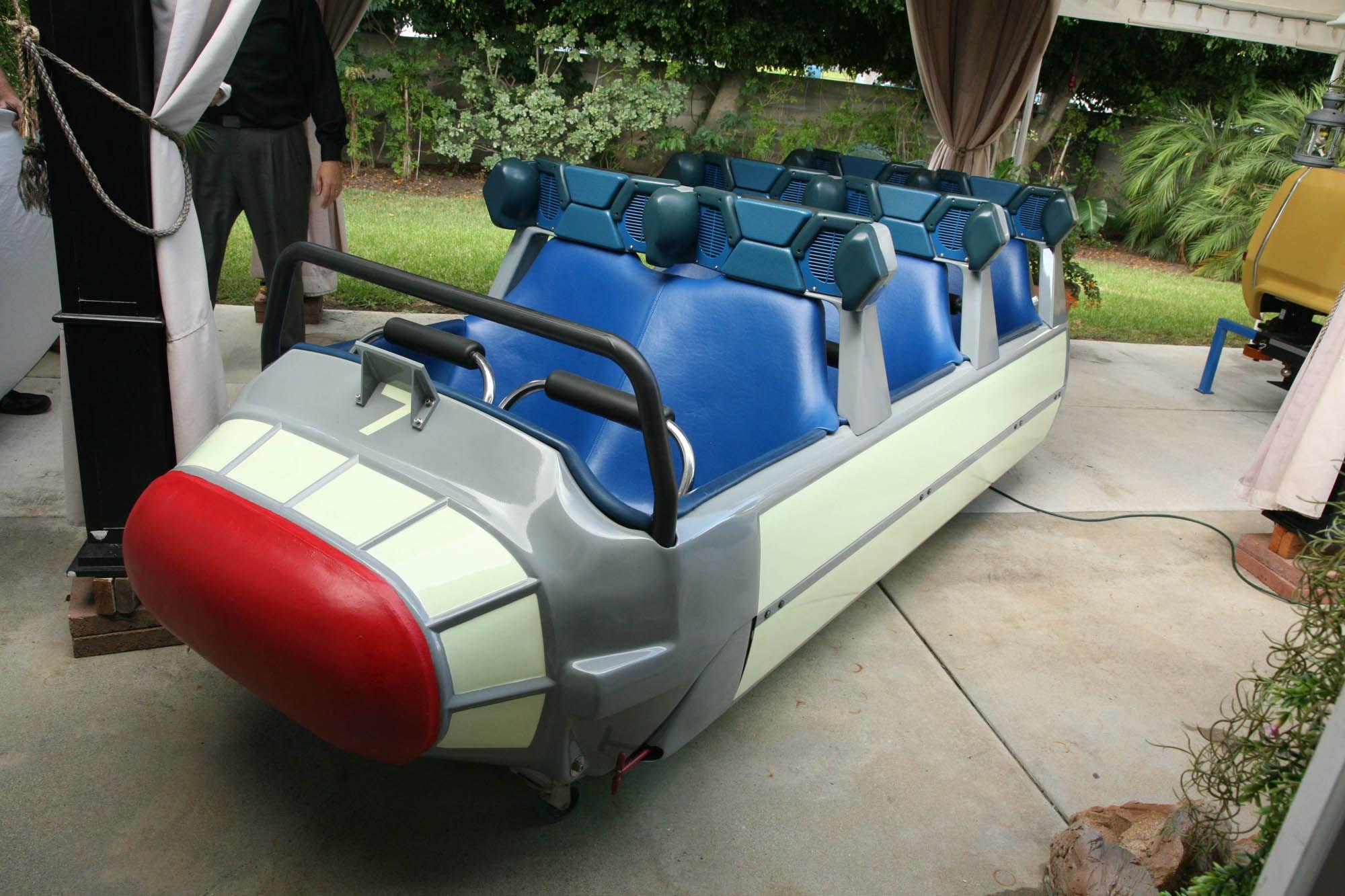 Disney To Auction Off Original Ride Cars Vintage Concept
