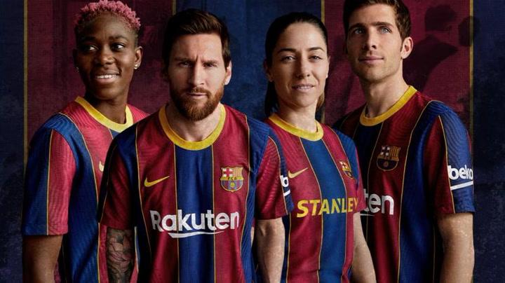 El Barça presenta la camiseta para la temporada 2020-21