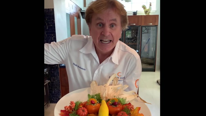 """Rudi Sodamin Makes A Special, Thanksgiving-themed """"Food Faces"""" Video For Cruise Critic"""