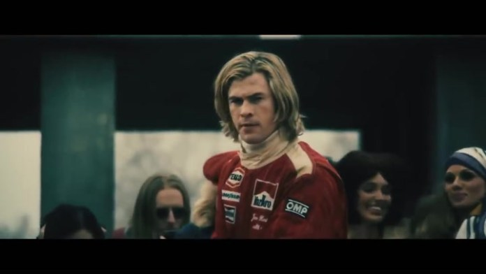 Trailer of the movie Rush