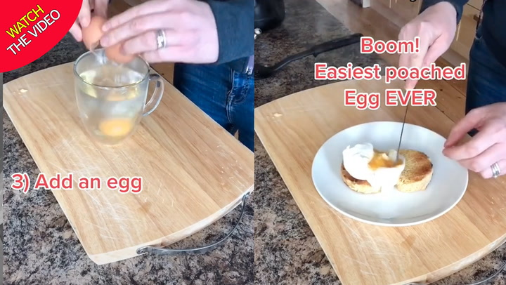 if only we knew poached egg life hack could have saved us all a lot of time