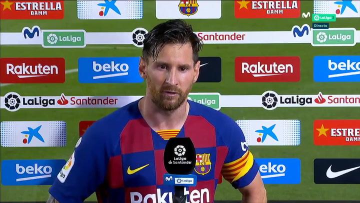 """Messi explota tras perder ante Osasuna: """"No nos alcanzó ni para la Liga"""""""