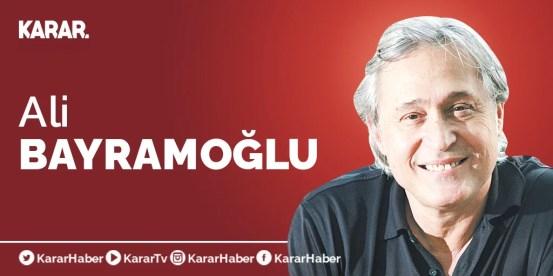 Το κύριο πολιτικό ζήτημα το 2021 … – Ali Bayramoğlu