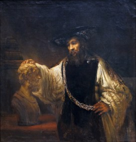 Rembrandt, Aristotle with a Bust of Homer (article) | Khan Academy