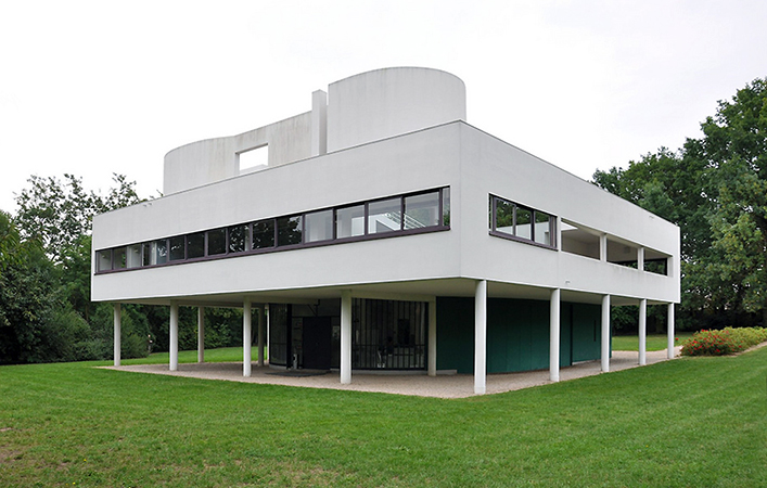 Villa Savoye By Le Corbusier Article Khan Academy