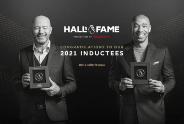 Thierry Henry & Alan Shearer inducted into Premier League Hall of Fame