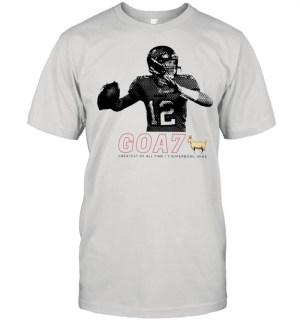 Tom Brady goa7 greatest of all time 7 super bowl wins shirt Classic Men's T-shirt