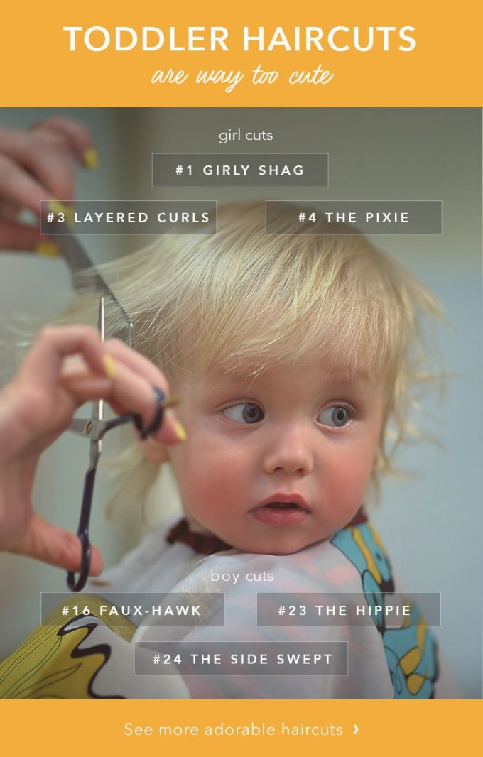 the 25 cutest toddler haircuts - care