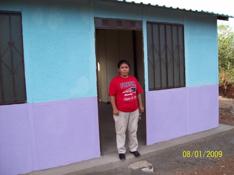 Candaleria Hernandez in Nicaragua