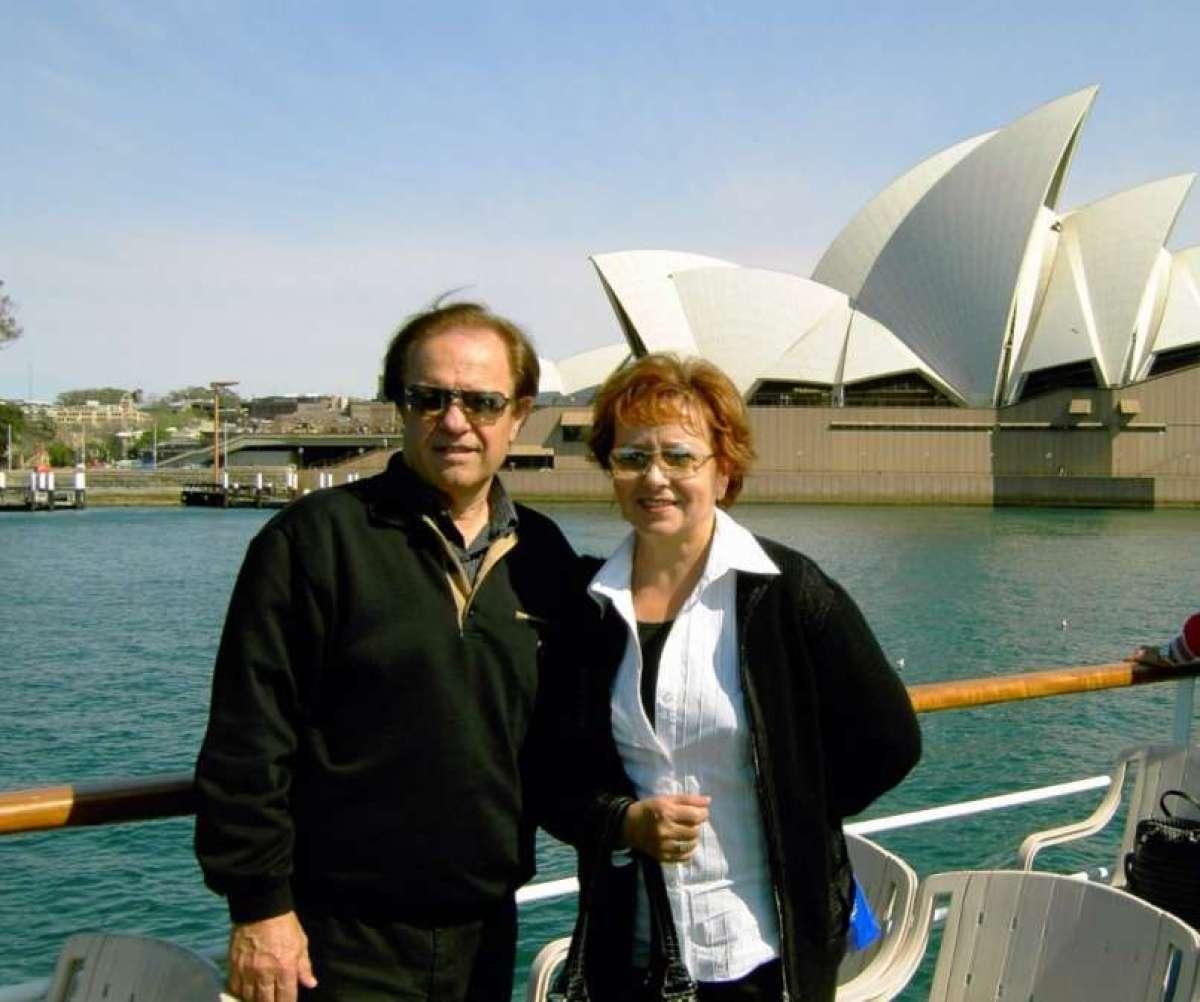 Alfi Nipič z ženo Bebo - Legendarni Alfi Nipič se je vrnil h kameri in televiziji.