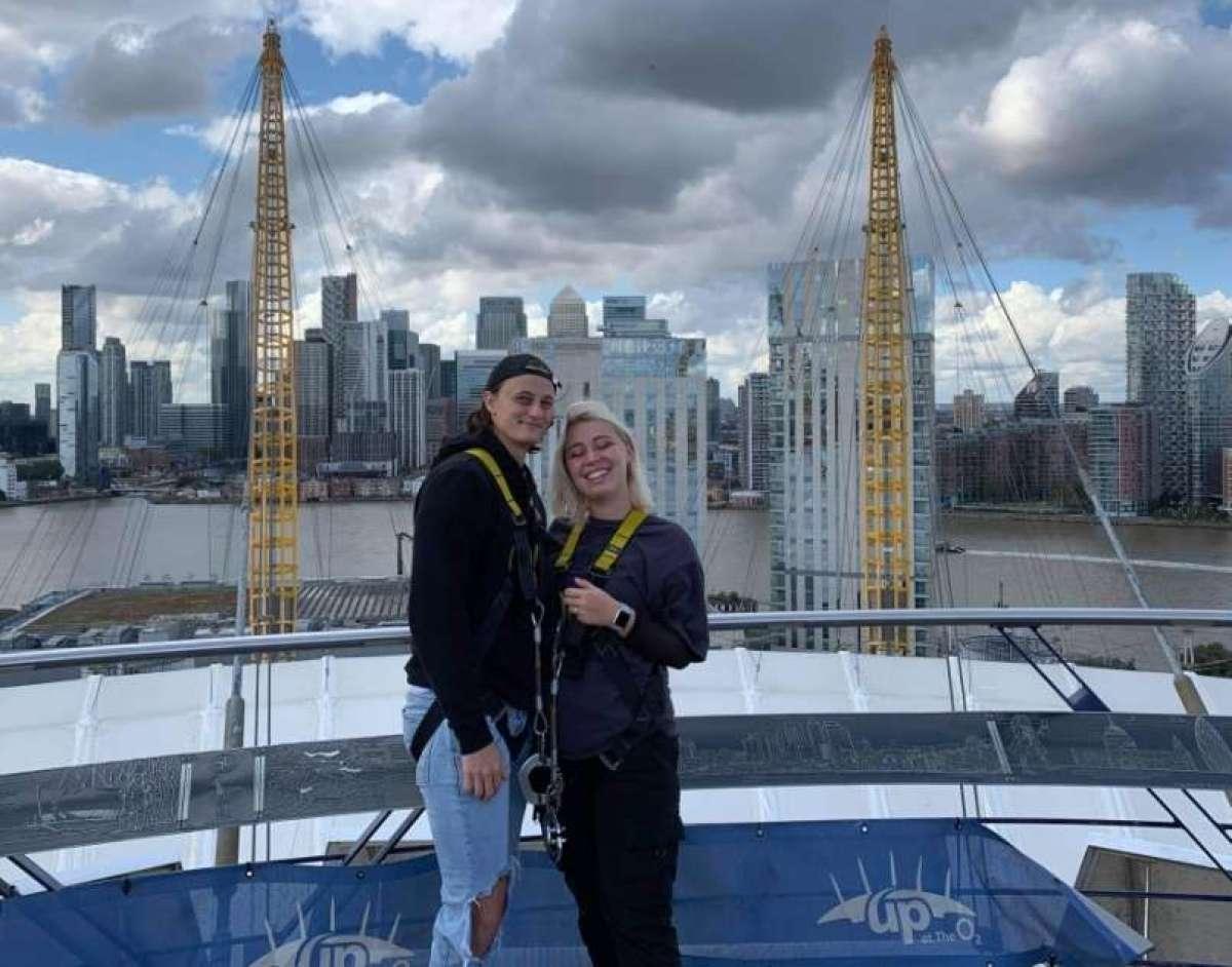 Žan Florjanič v Londonu uresničuje svoje sanje.
