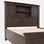 Madison County King Barn Door Headboard By Paragon The Furniture Mall