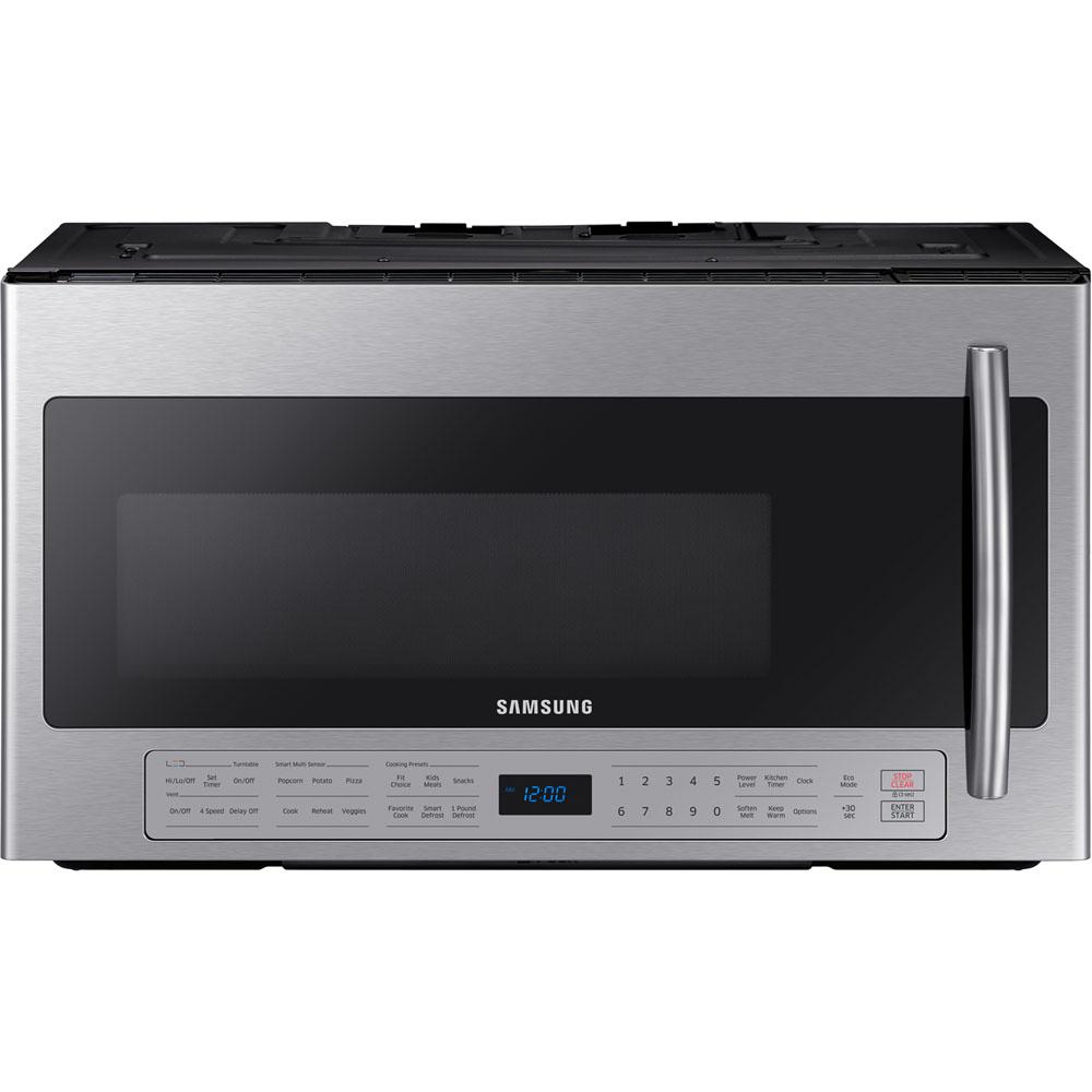 otr microwave smart multi sense cook ceramic enamel interior by samsung nis942795858 missouri furniture