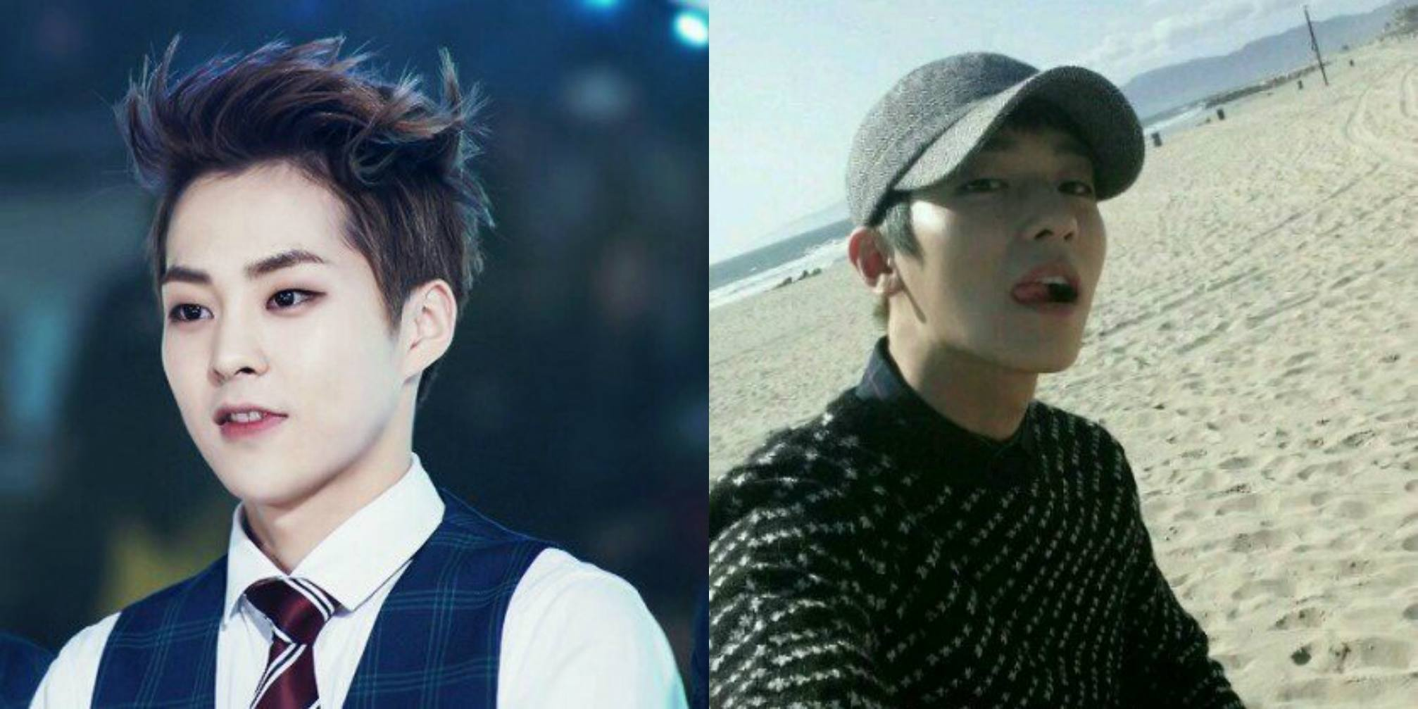 EXO Xiumin and TEEN TOP L.Joe