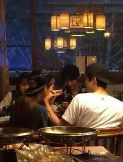 Jiyeon and Lee Dong Gun in China
