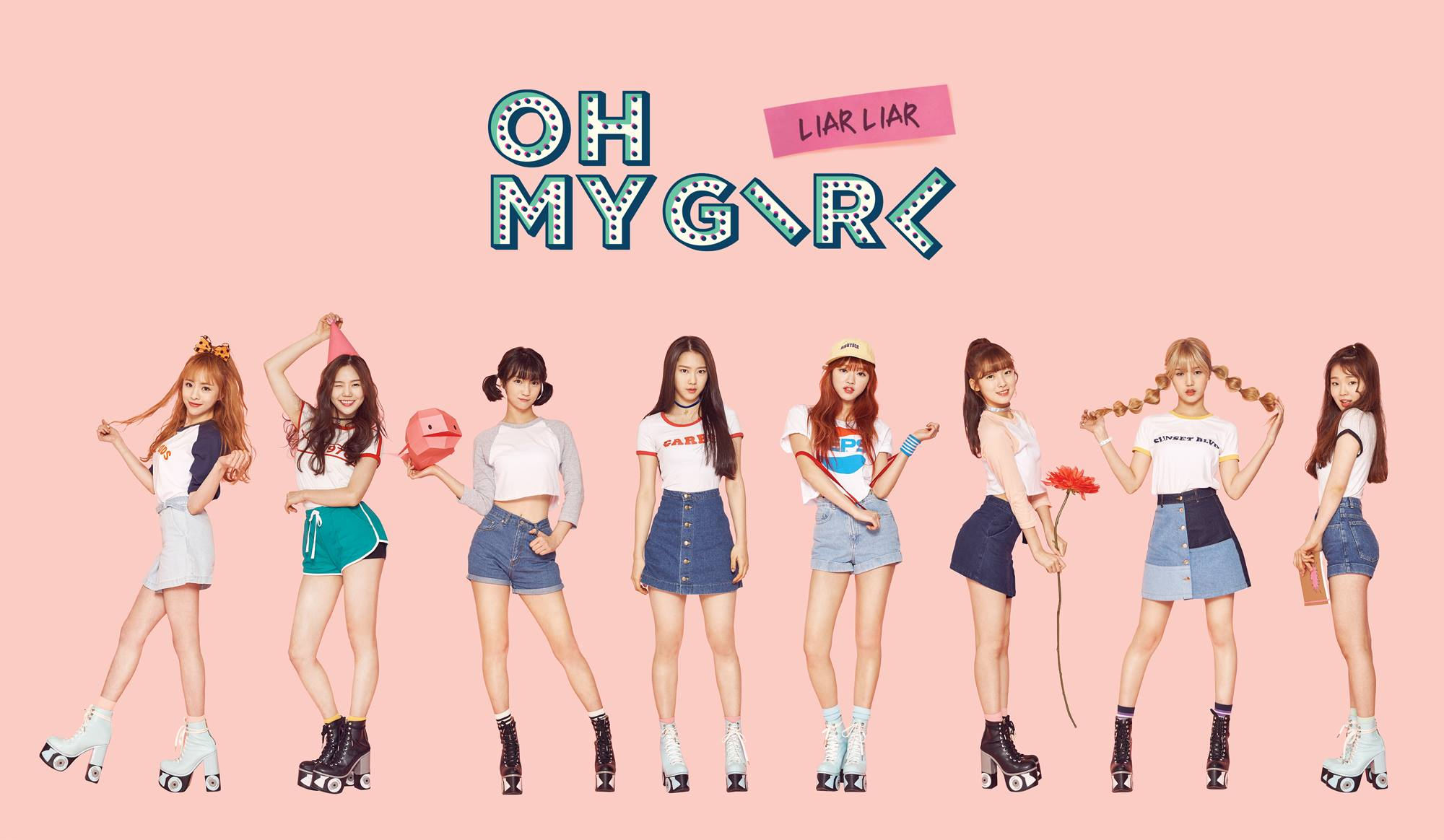 "Image: Oh My Girl ""LIAR LIAR"" EP / WM Entertainment"