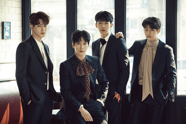 Image: CNBLUE for BLUEMING / FNC Entertainment