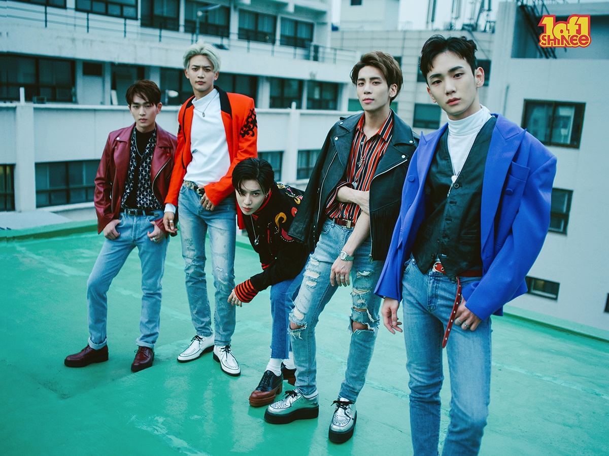 """SHINee group photo for album """"1 of 1"""" / Image Source: SM Entertainment"""