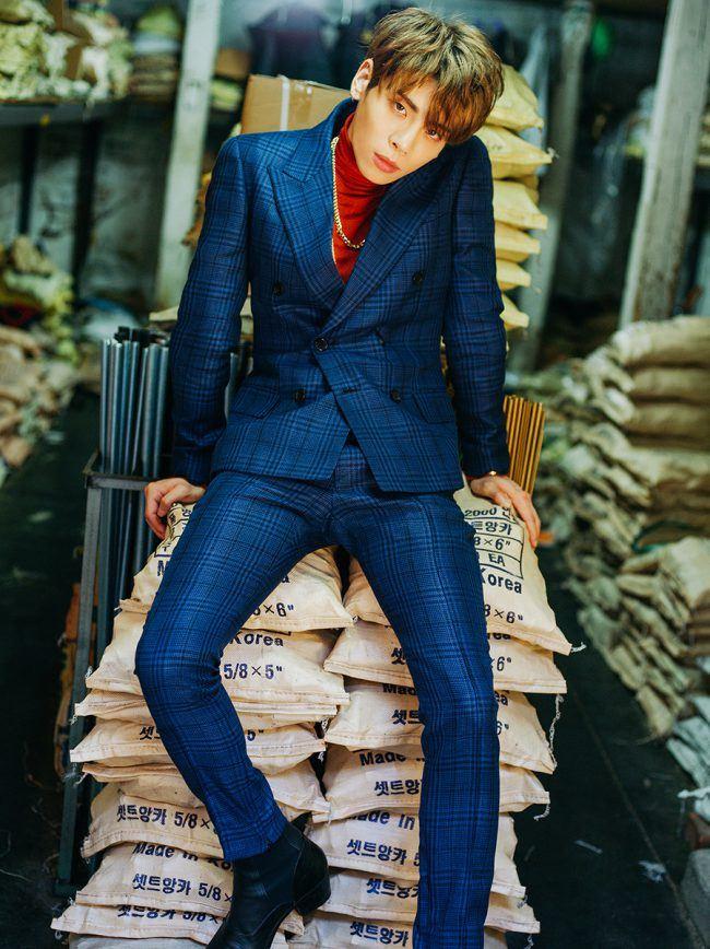 "SHINee's Jonghyun for album ""1 of 1"" / Image Source: SM Entertainment"