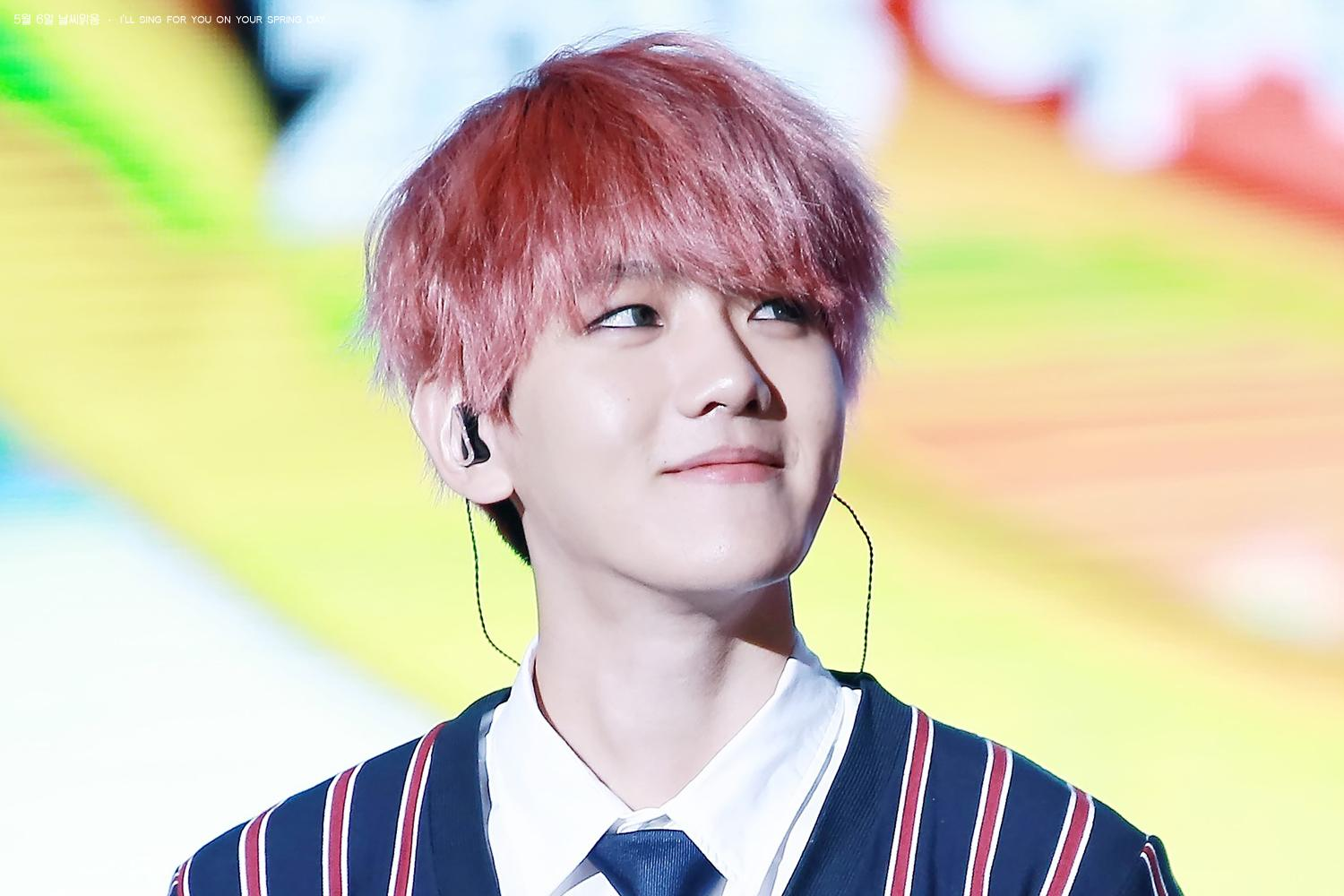 EXO Baekhyun Just Changed His Hairstyle Completely Koreaboo