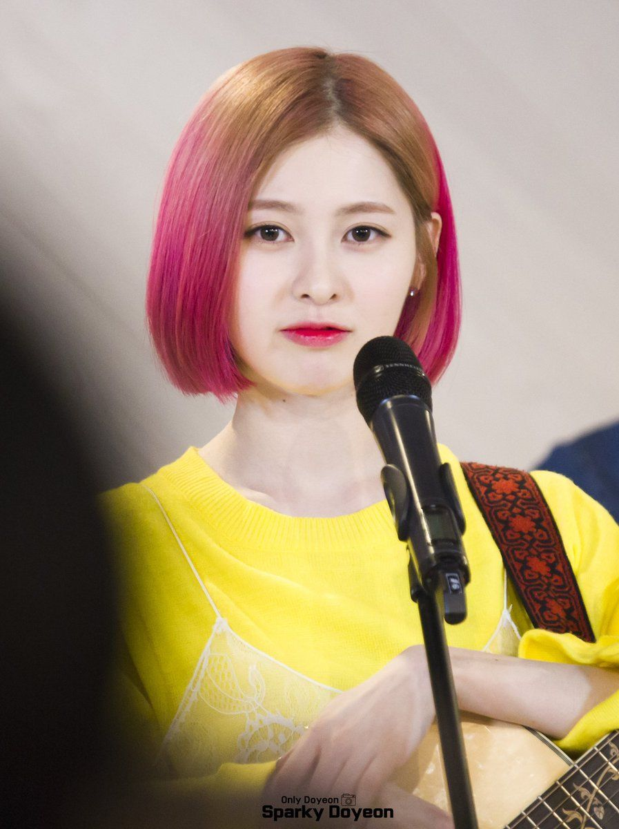 11 Photos Of DIA Yebins Fierce New Hairstyle Koreaboo
