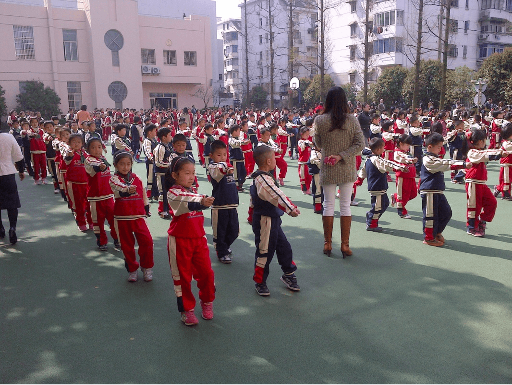 Chinese Schools Are Checking If Parents Are Overweight As