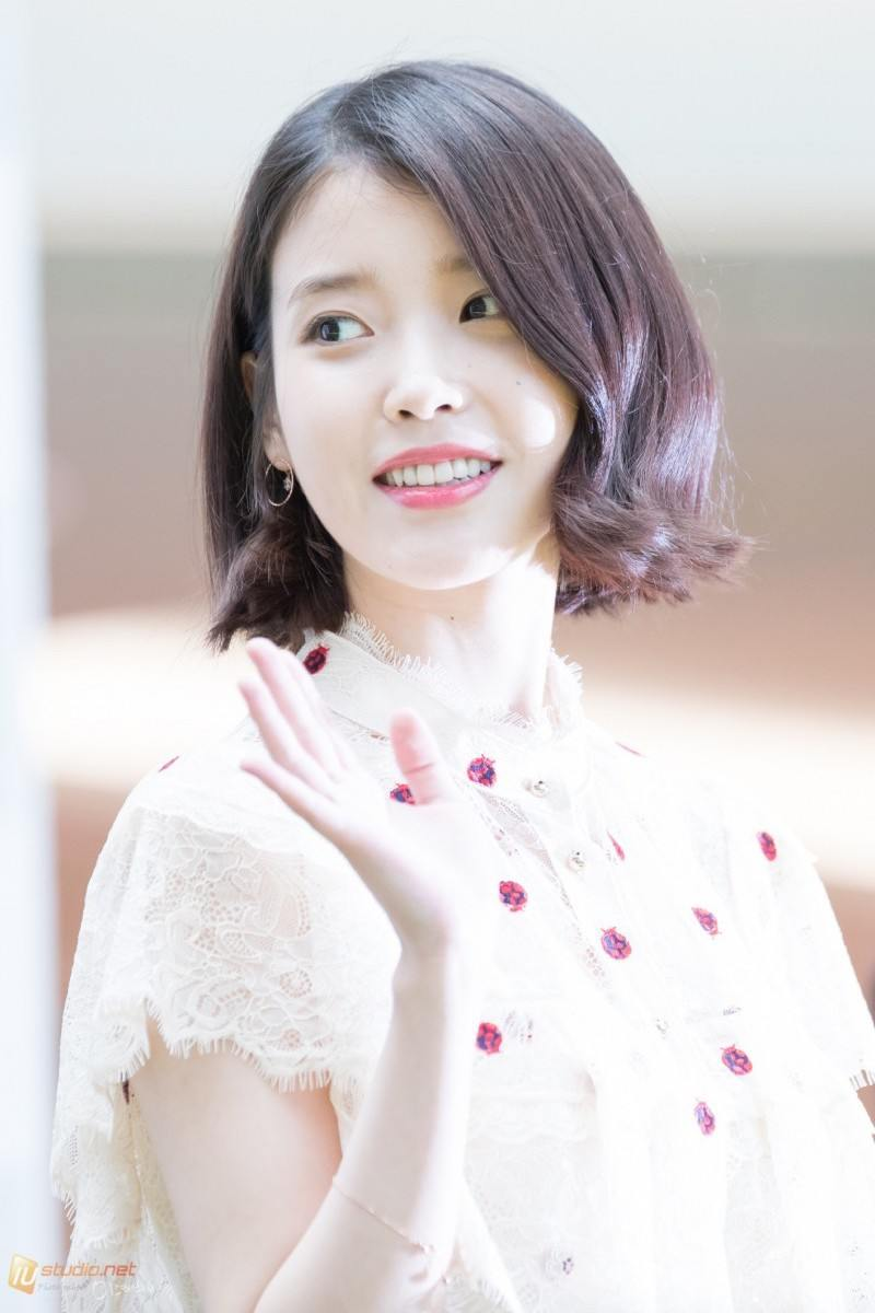 These Pictures Prove IU Has Perfected The Short Hair Style