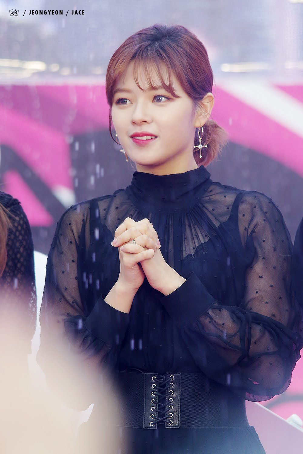 TWICEs Jeongyeon Wows Fans With Pretty Feminine Styling