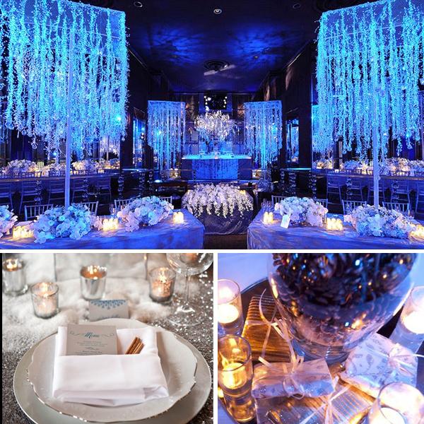 Winter Wedding Inspiration Blue Palette Lake Tahoe