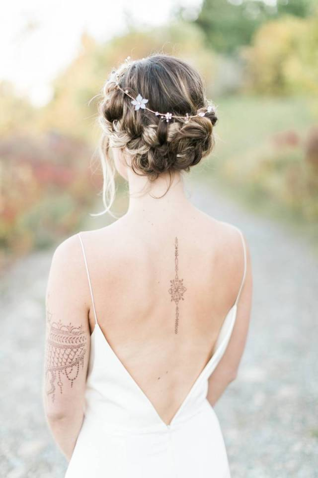 bohemian bride hair & makeup | calgary hair & makeup | item 3