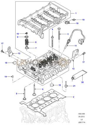 Cylinder Head  24 Tdci  Land Rover Workshop