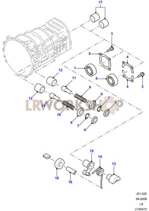 Manual Transmission Components  Land Rover Workshop
