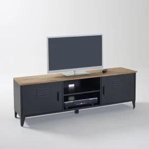 Meuble TV Meuble TV Design Blanc Dangle La Redoute