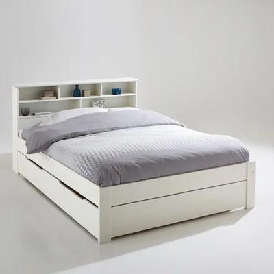 ensemble lit tete de lit et sommier nikko la redoute interieurs