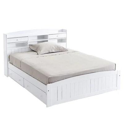 lit avec tete de lit pin massif grimsby la redoute interieurs
