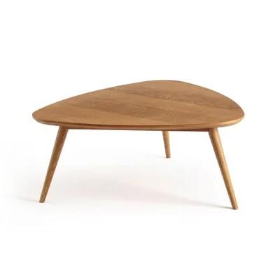 table basse vintage chene moyen quilda la redoute interieurs