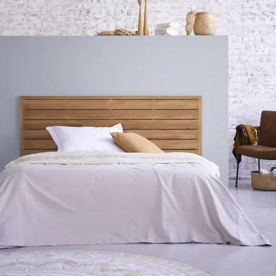 tete de lit en bois de teck 165 minimalys tikamoon