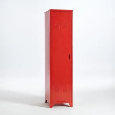 Armoire Metallique Rouge En Solde La Redoute