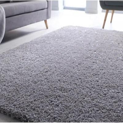 tapis argente la redoute