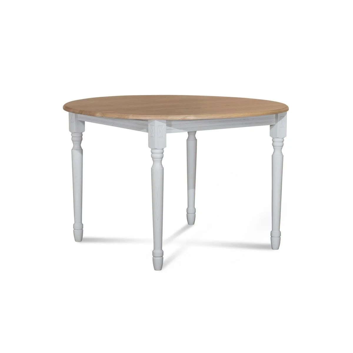 table salle a manger ronde blanche